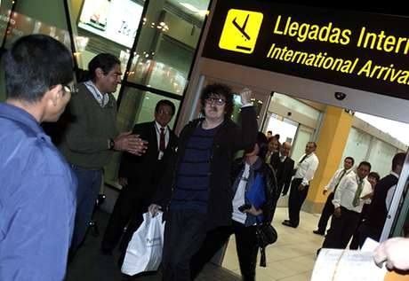 Charly García ya está en Lima