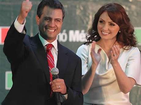 """Angélica Rivera, la bella actriz esposa del nuevo presidente mexicano protagonizó en 1993 la novela """"Sueño de Amor""""."""