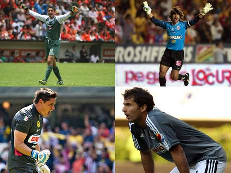 A look at the starting goalkeepers for all the teams in the Apertura 2012.