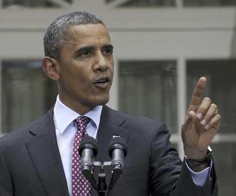 El presidente Barack Obama en una foto de archivo del 15 de junio del 2012, habla en el jardin de la Casa Blanca en Washington. Obama celebrará el miércoles 4 de julio del 2012 en la Casa Blanca el 236º aniversario de la fundación del país.