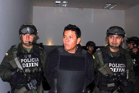 """Camilo Torres, alias Fritanga, """"fue sorprendido minutos después de contraer nupcias, y justo cuando se aprestaba a iniciar la recepción"""" para cerca de 150 invitados en un lujoso hotel de Isla Múcura, explicó la Policía en un comunicado."""