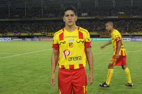 Germán Ezequiel Cano, delantero argentino. Pasó por Deportivo Pereira y ahora vuelve al FPC para actuar con el DIM.