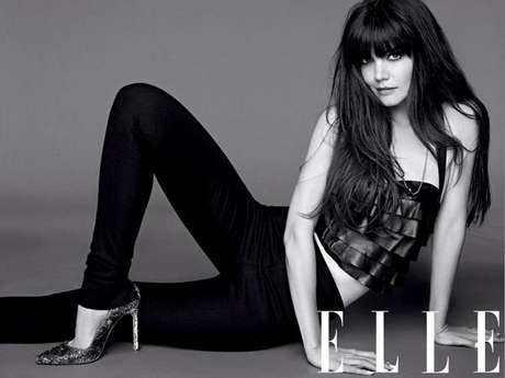 Katie Holmes posou com roupas sexy para a revista