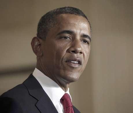 El presidente Barack Obama pronuncia un discurso antes de firmar el viernes 6 de julio de 2012 un proyecto de ley sobre el transporte. El acto tuvo lugar en la Casa Blanca. Obama dijo el sábado 7 que el gobierno y el Congreso deben hacer más por el bien de Estados Unidos.