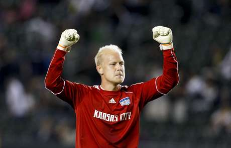 Sporting Kansas City Jimmy Nielsen will defend the goal for the MLS team. Nielsen was was winner of the fan's vote.