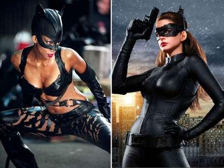 """A propósito del estreno de la tercera entrega del """"Batman"""" a cargo de Christopher Nolan, hemos decidido enfrentar la versión antigua de Gatúbela, interpretada por Halle Berry; con la nueva intérprete de la Catwoman en """"The Dark Knight Rises"""", Anne Hathaway. Aunque es verdad que en cuestiones de desempeño actoral aún tenemos que esperar al 26 de julio –día del estreno de la cinta en Perú–, podemos ir decidiendo a quién le queda mejor el atuendo del emblemático personaje."""