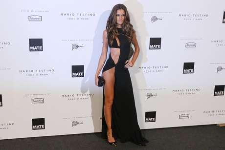 Mario Testino hizo imponer el glamour con los invitados a la inauguración de MATE, su Asociación Cultural. Aquí la modelo brasileña de Victoria's Secret Izabel Goulart.