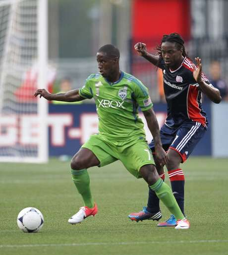 Eddie Johnson was one of two Seattle Sounders added to the MLS roster for the All-Star Game against Chelsea July 25.
