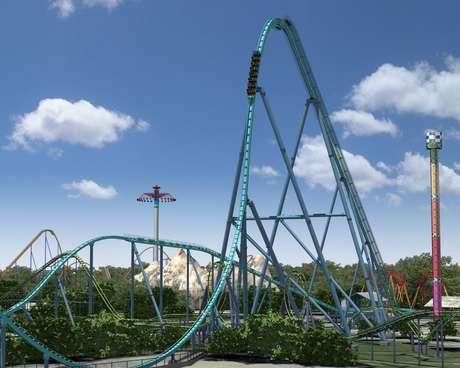 Os parques temáticos estão criando montanhas-russas cada vez mais rápidas e assustadoras