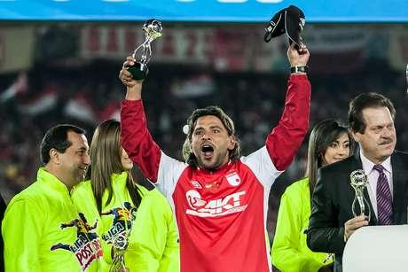 Gerardo Bedoya, protagonista de Santa Fe en el título de Liga Postobón 1 - 2012.