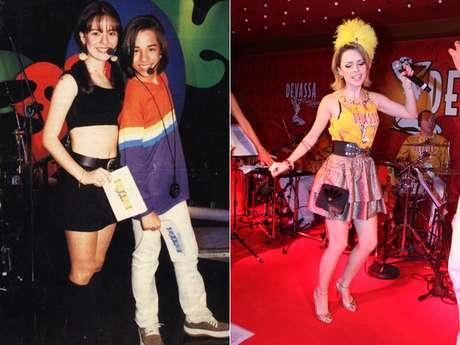Na mídia desde o início da década de 90 a cantora Sandy mudou seu estilo diversas vezes, mas sempre manteve um pé no romantismo