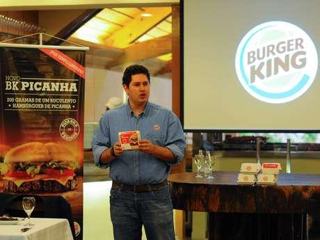 Apesar da recepção não ter o hambúrguer para degustação, a picanha do tradicional restaurante foi servida enquanto representantes do Burger King apresentavam a novidade. A principal proposta da lanchonete é oferecer para as pessoas uma das paixões dos brasileiros, o churrasco