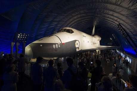El Enterprise, una verdadera atracción del Museo de NY.