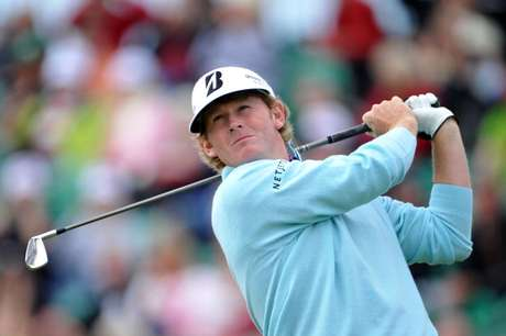 Brandt Snedeker of the United States hits his tee shot on the fifth hole during the second round of the 141st Open Championship at Royal Lytham & St Annes Golf Club on July 20, 2012 in Lytham St Annes, England.