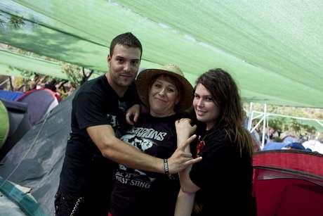 Familia Úbeda : Rosa ha elegido Costa de Fuego para estrenarse con sus hijos Rubén y Saray en esto de los festivales.
