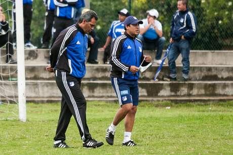 Hernán Torres aún no sabe quién jugará por Osorio ante Inti Gas.
