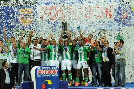 Atlético Nacional a comienzos de semestre jugó la final de la Superliga Postobón, la cual le ganó al Junior de Barranquilla.