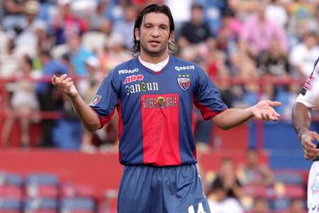 Francisco Fonseca of Atlante in action during a match between Pachuca and Atlante as part of the Tournament Apertura 2012 at Olimpic Stadium on July 22, 2012 in Cancun, Mexico.