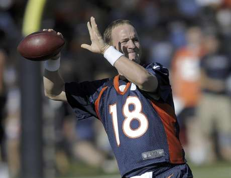 Peyton Manning's debut with the Broncos is one of the highlights of the pre season.