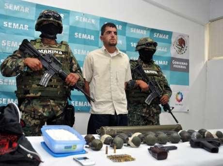 La detención del capo ocurrió en un hotel del municipio de Huejotzingo, Puebla.
