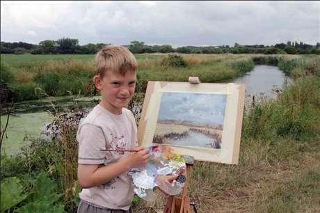El pintor millonario de nueve años de edad. El pintor inglés Kieron Williamson, de nueve años de edad, vendió su primera obra de arte en 2010, por US$233.000. Desde entonces, sus pinturas son solicitadas por gente de todo el mundo, incluidos celebridades y miembros de la familia real. A su corta edad, Kieron es millonario y reconoce que su estilo ha madurado.