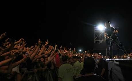 Foo Fighters cerró la versión 2012 de Lollapalooza en Santiago