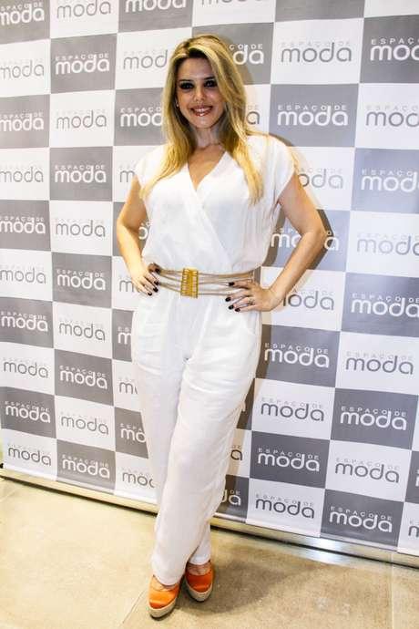 Mari Alexandre foi um dos destaques do Mega Polo Moda nesta quarta-feira (1)