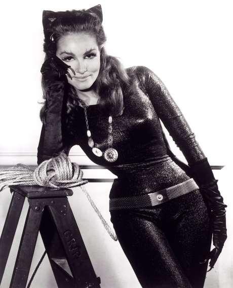 Julie Newmar como la 'Catwoman'