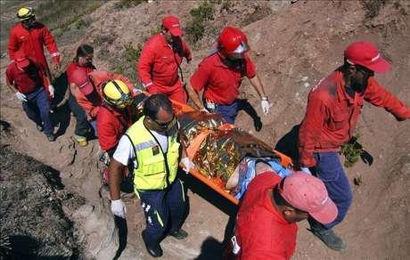 Un español herido de gravedad al caer de 6 metros de altura en una playa lusa