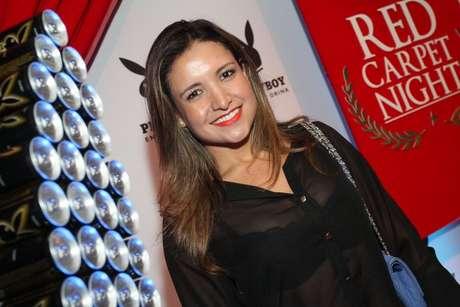 A ex-BBB Natalia foi uma das convidadas do evento
