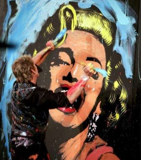 A atriz americana Marilyn Monroe foi um ícone sexual dos anos 1950