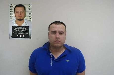 José Ricardo Barajas López, presunto delincuente al servicio de la organización criminal de Los Zetas.