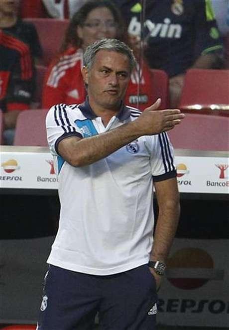 Foto de archivo del entrenador del Real madrid, el portugués Jose Mourinho. Jul 27, 2012.