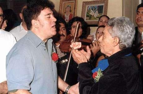 Chavela Vargas y Pedro Almodóvar