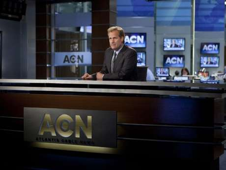 Jeff Daniels interpreta a Will McAvoy, el presentador de 'News Night'.