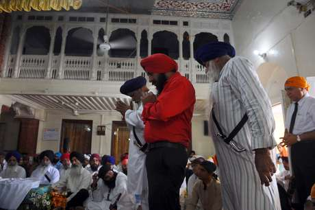 There are over 30 million people that practice the Sikh religion in the world.