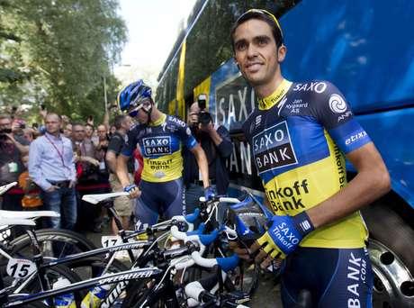 Contador aseguró que este tiempo lo ha dedicado a entrenar para prepararse para las competiciones.'Han sido seis meses difíciles que recordaré siempre. No he querido estar parado, he cambiado de lugares de entrenamiento, ha habido días de tener más ganas y otros de menos, pero estoy igual de cansado que otros años porque he entrenado mucho'.