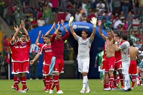 Toluca took the lead in the Apertura 2012.