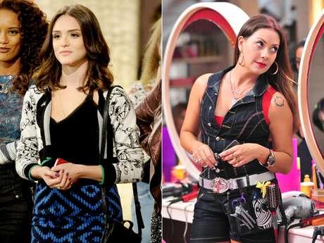 Alguns tons de rosa e roxo disputam espaço com o vermelho, entre os cosméticos queridinhos das espectadoras das novelas da 'Globo'
