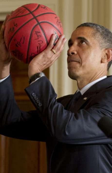 Obama es fanático del básquetbol