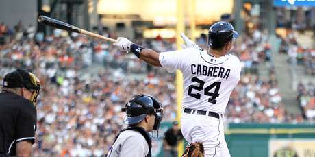 MIguel Cabrera continues to shine with the Tigers.