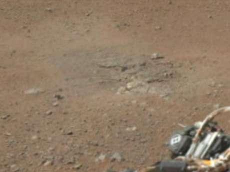 La Nasa dio a conocer la primera imagen panorámica a color  que da una visión horizontal de 360 grados de lo que están viendo las cámaras que hacen de ojos del robot que está mostrando Marte como nunca antes.