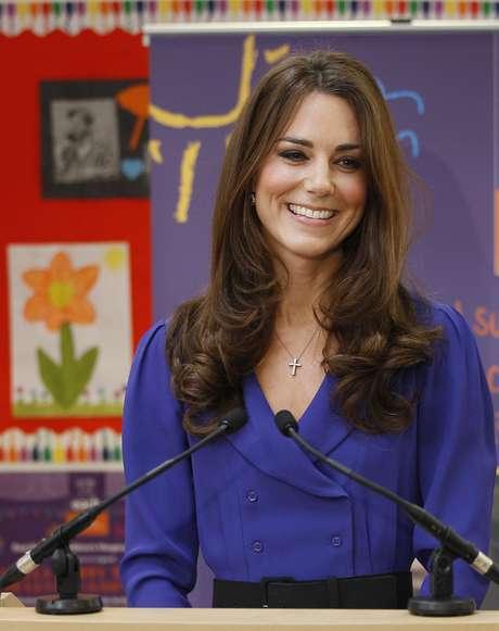 Kate Middleton é adepta da maquiagem
