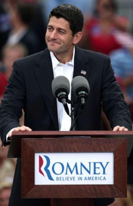 Paul Ryan, compañero de fórmula por el candidato republicano a presidente de EE.UU. Mitt Romney.