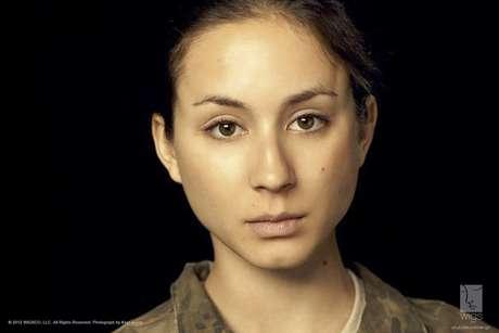 """Imagen de """"Lauren"""", protagonista de la nueva serie de WIGS que se transmitirá por YouTube donde se abordará el tema del abuso sexual en el ejército de EEUU."""
