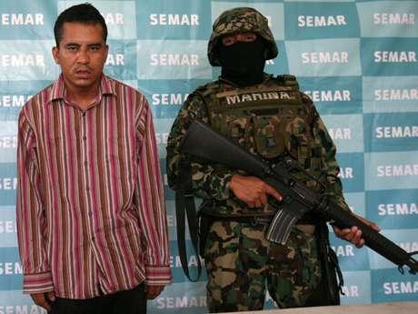 Juan Carlos Hernández Pulido, 'La Bertha', presunto jefe operativo y sicario del cartel Jalisco Nueva Generación.