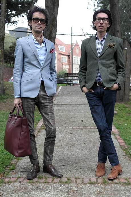 Carlos Mario y Humberto son los creadores del blog de moda 'Como una aparición'