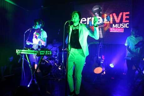 Esteman fue el cuarto invitado al Terra Live Music.