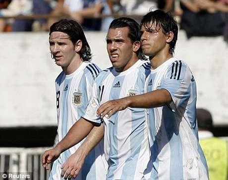 Messi, Aguero y Tévez, entre los argentinos más ricos.