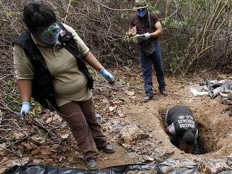 Se presume que algunos cadáveres son de inmigrantes centroamericanos.
